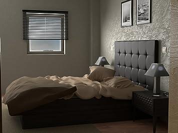 LA WEB DEL COLCHON Cabecero de Cama tapizado Acolchado Corfú (Cama 150) 160 x