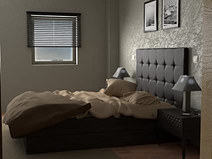 LA WEB DEL COLCHON Cabecero de Cama tapizado Acolchado Corfú (Cama 160) 170 x