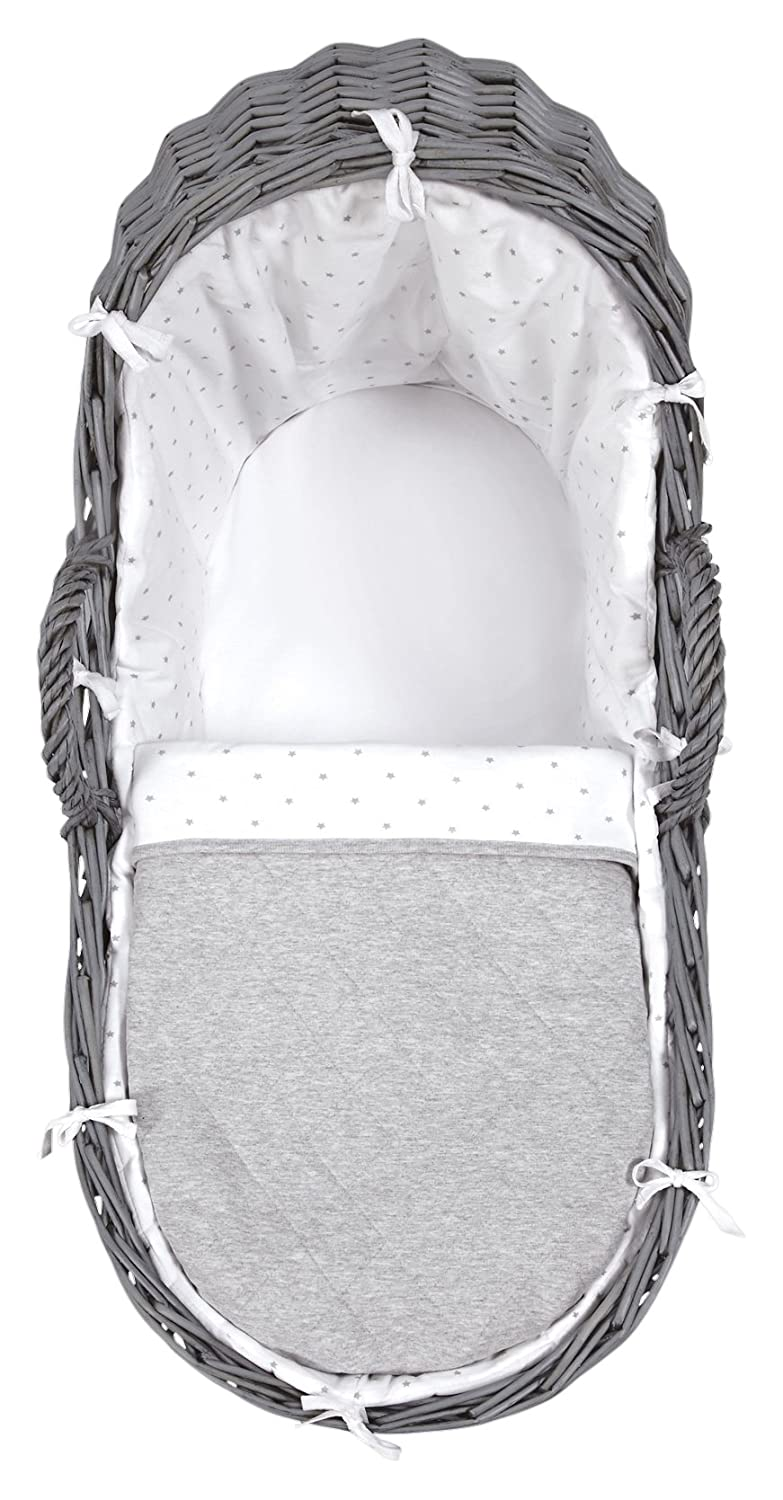 Mamas & Papas Moses Basket, White Star 770002701