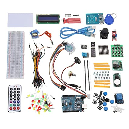 Amazon com: RFID Starter Kits for Arduino R3 Upgraded Version