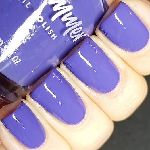 Breaking Blues Cream Nail Polish   0.5 Oz Full Sized Bottle by Kb Shimmer