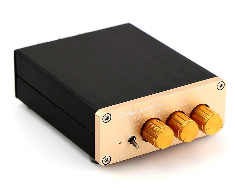 Nobsound Tpa3116d2 Mini Digital Amplifier Hifi 21ch 300 Watt Class D Audio Board Tas5613 300w Mono Power Amp Stereo With Supply Home Theater