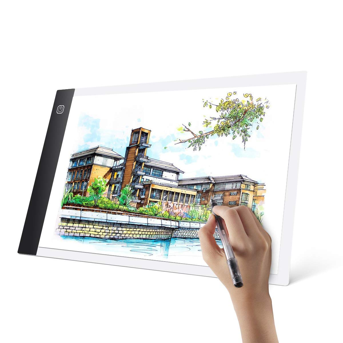 LED Caligraphy Handwriting Cartoon Anime Comic Picture Copybook Imitate Board (Color : 1-Mode) Tabpole