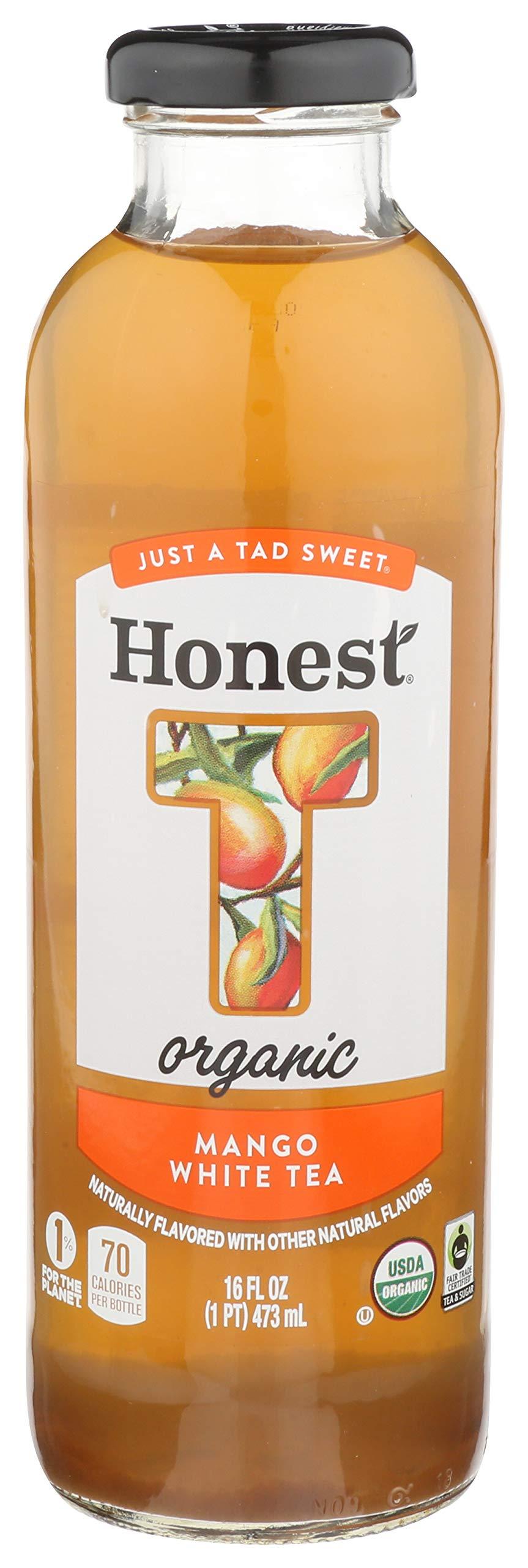 Honest Tea Mango White Tea, 16 oz