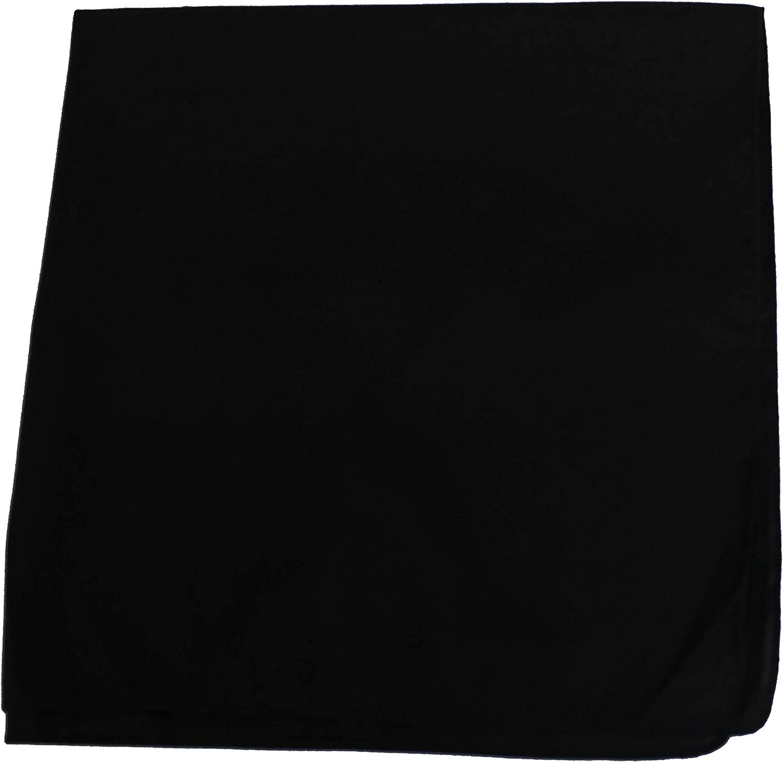 Plain fabric bandana