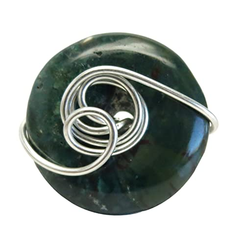 Amazon com: SatinCrystals Bloodstone Ring 7 Specialty One-of
