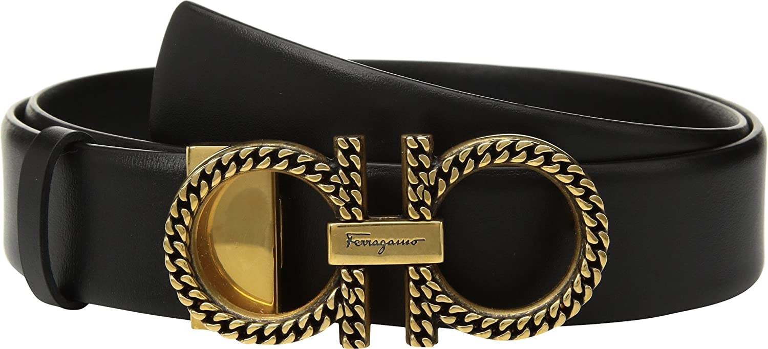 Salvatore Ferragamo Women's 23B570 Nero 85 (34