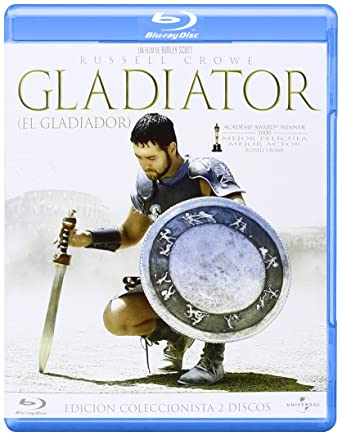 Gladiator (Edición especial) [Blu-ray]: Amazon.es: Richard ...