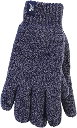 Heat Holders - Mens Thick Warm Fleece Lined Cold Weather Winter Thermal Gloves