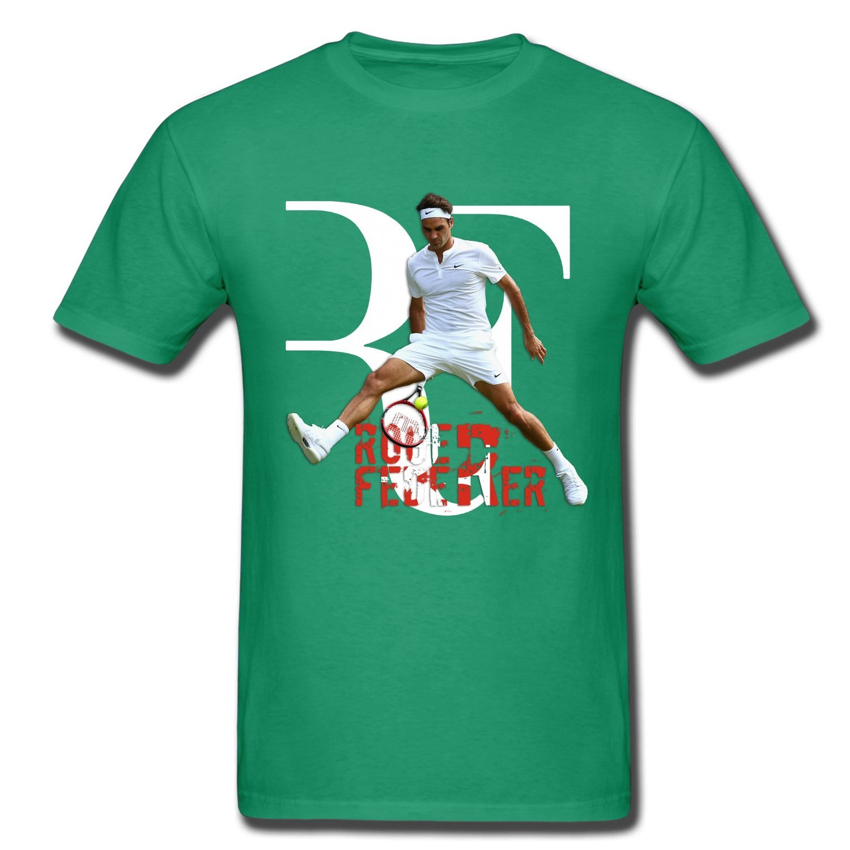 CONOC Boy's&Girl's Perfect RF Roger Federer Wimbledon Tennis Youth T-Shirt