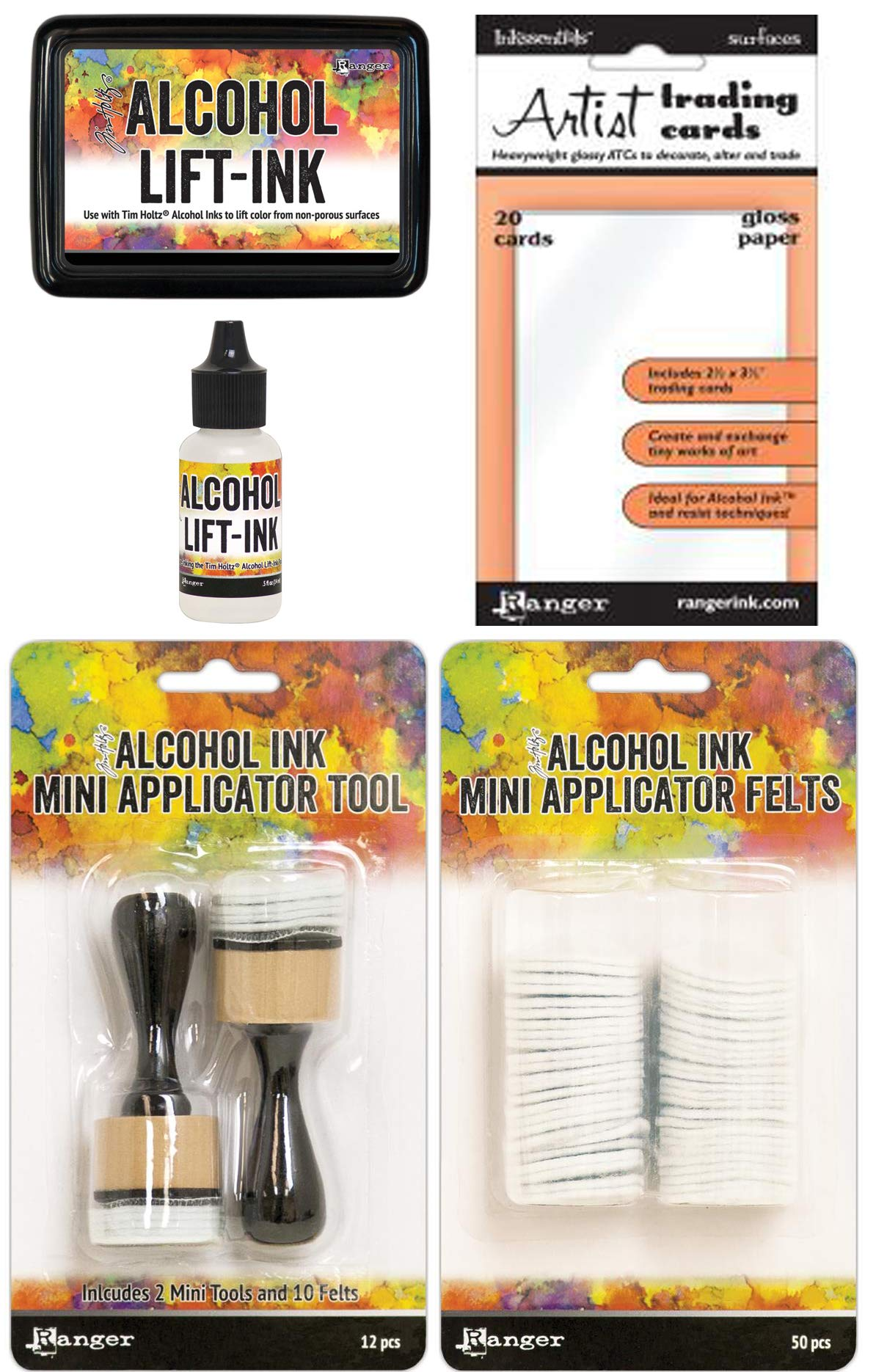 Tim Holtz Alcohol Ink Lift-Ink and Mini