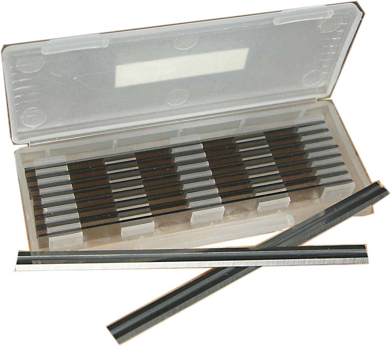 1 caja AP98 CE53S Para VIRUTEX 56 x 5,5 x 1,1 mm TCT Planer espesores cuchillas 10 piezas