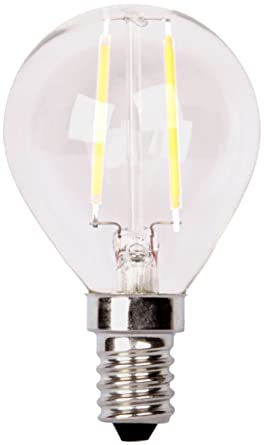 XQ-lite XQ1405 Bombilla LED, E14, 2 W, Luz blanca cálida,