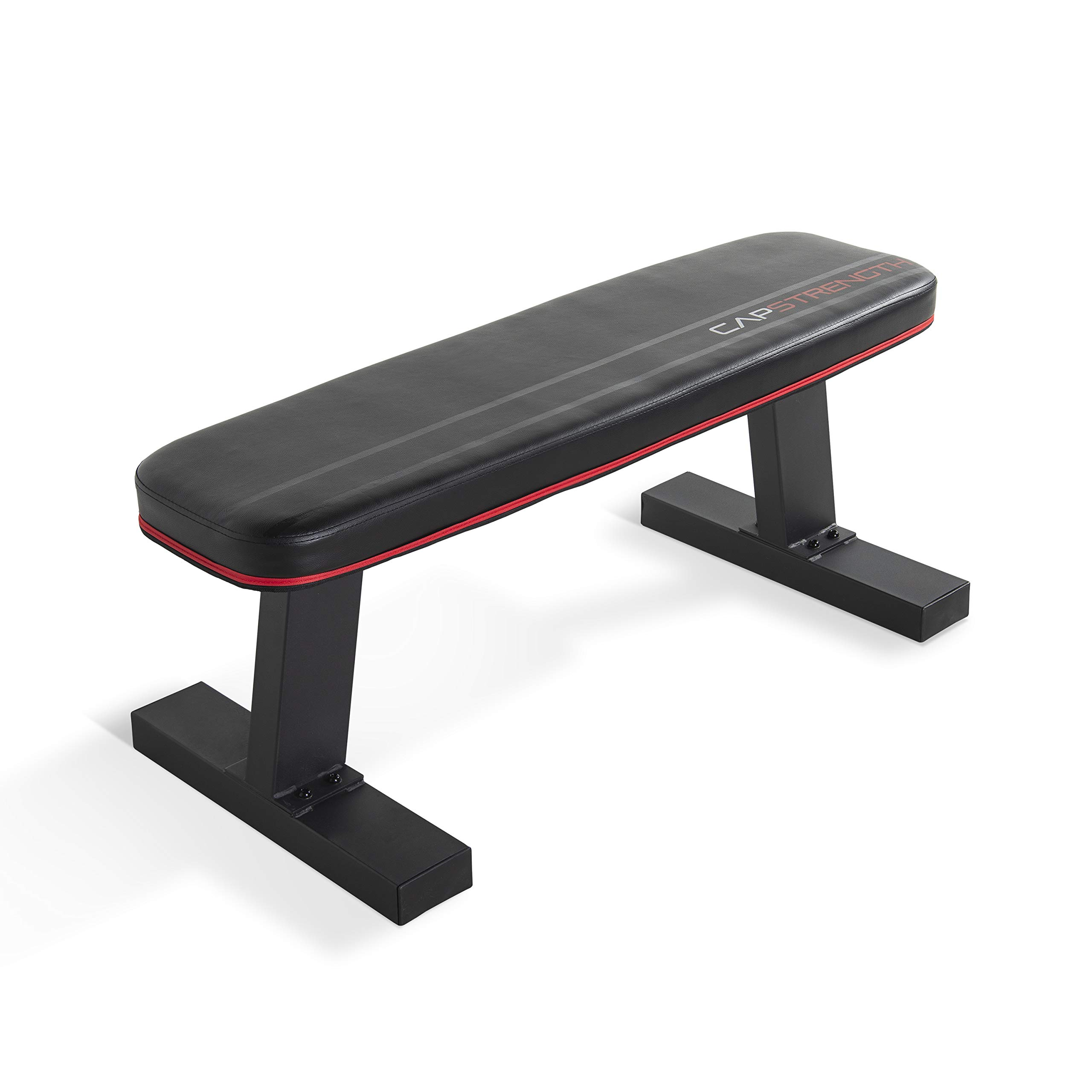 CAP Barbell Flat Utility Bench, Black by CAP Barbell
