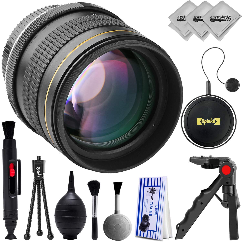 Opteka 60D 85mm f/1.8 T5i HD マニュアルフォーカス非球面フルフレーム 望遠ポートレートレンズ Canon EOS SL2 80D 77D 70D 60D 7D 6D 5D 7D Mark II T7i T6s T6i T6 T5i T5 SL1 SL2 デジタル一眼レフカメラ用 B07G5KM7CL, シキシ:29af6290 --- ijpba.info
