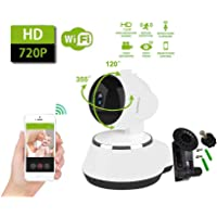 HD 720p Wireless WiFi IP Camera Webcam Baby Pet Monitor CAM Pan Remote Home Security…