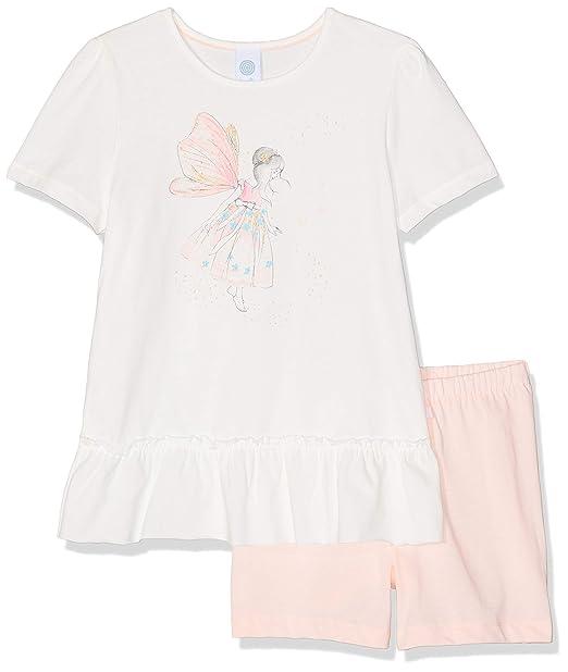 Sanetta Baby-M/ädchen Pyjama Lang Zweiteiliger Schlafanzug