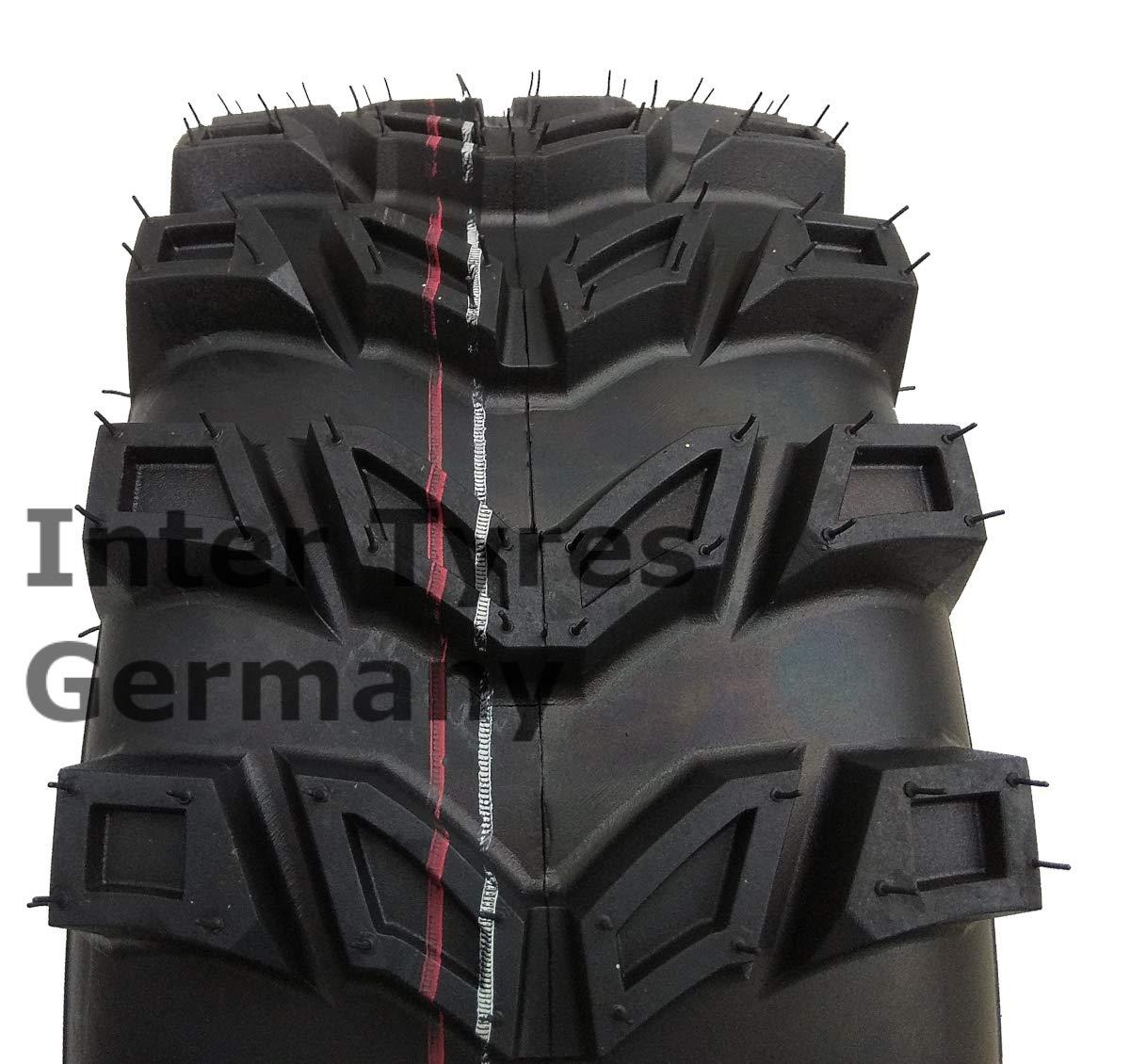 Reifen 16x6.5-8 P533 16x6.50-8 WANDA f/ür Aufsitzm/äher Schneer/äumer Rasentraktor