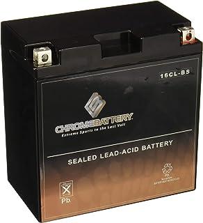 Chrome Battery YB16CL-B High Performance Power Sports Battery