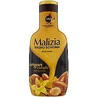 Malizia Schuimbad, argan en vanille - 1000 ml
