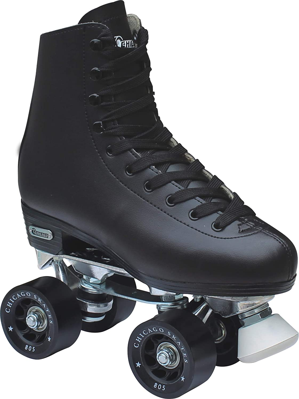 Chicago Men's Premium Leather Lined Rink Roller Skate - 2