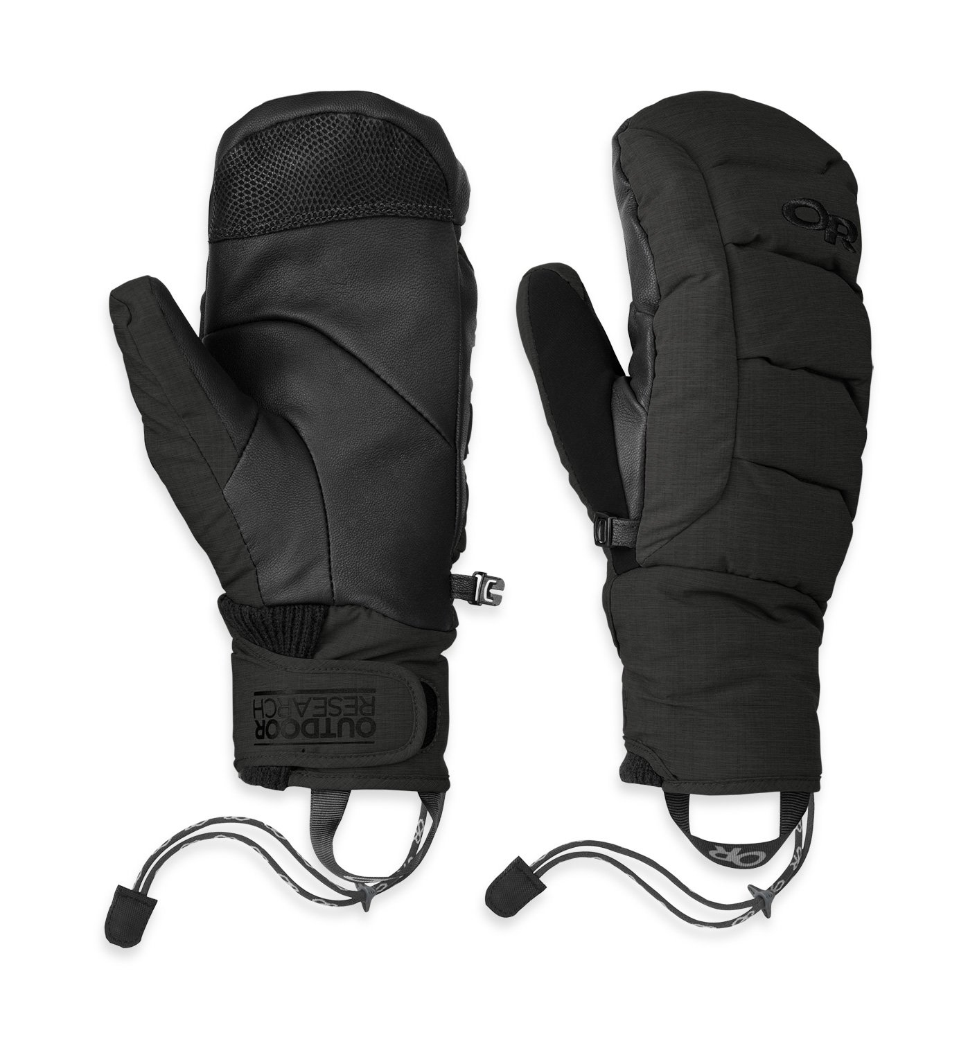 Outdoor Research Stormbound Mitts, Black, M