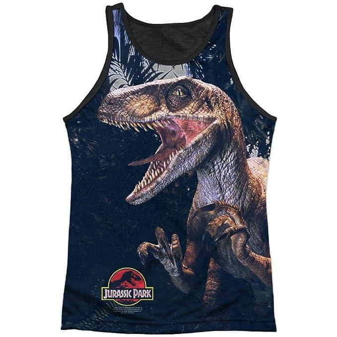 Jurassic Park - Camiseta - Camiseta gráfica - Manga Corta - Opaco - para Hombre Blanco