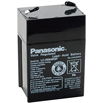 Amazon. Com: 6v 4. 5ah sealed lead acid battery: electronics. Mighty max battery exit sign battery 6v 4. 5ah backup 2 pack brand product. A great buy.