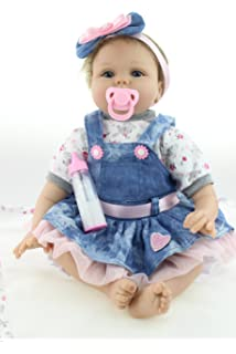 Amazon.com: NPKDOLLS Reborn Baby Dolls 22 inches Soft Simulation ...