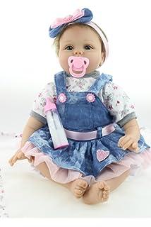 Amazon.com: NPKDOLLS Reborn Baby Dolls 22 inches Soft Simulation ...