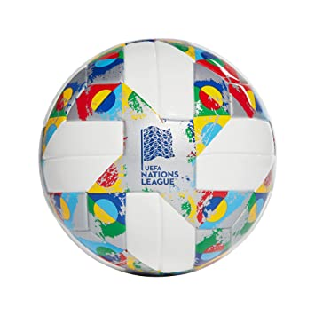 adidas UEFA Mini Soccer Ball, Hombres, White/Silver Met ...