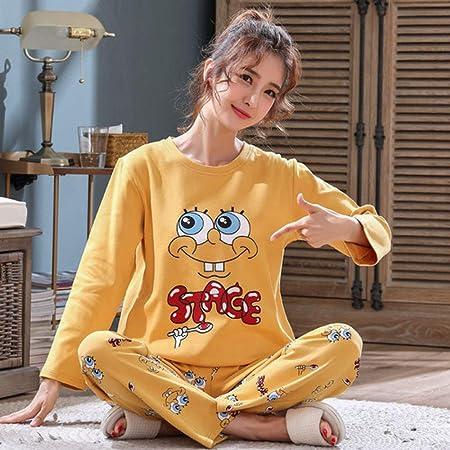 YPDM Pijama,Tallas Grandes 3XL 4XL 5XL 90 kg Ropa de Dormir Conjuntos de Pijamas de