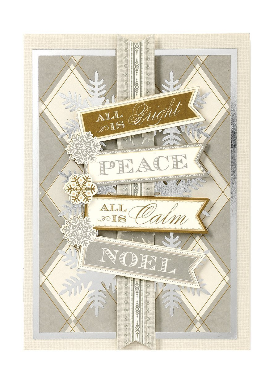 Amazon Com Handmade Dimensional Noel Christmas Card By Anna