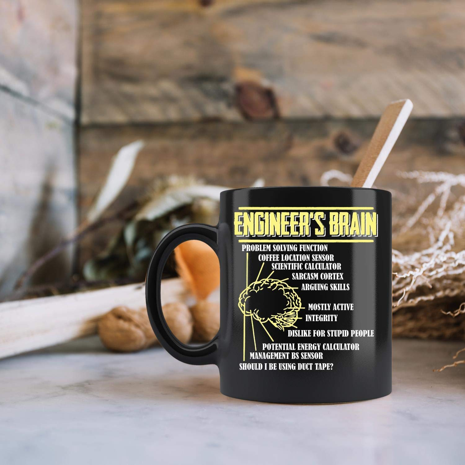 bf29e4de76 Amazon.com  Engineer s Brain Funny Coffee Mug 11oz Tea Cups Gift  Kitchen    Dining
