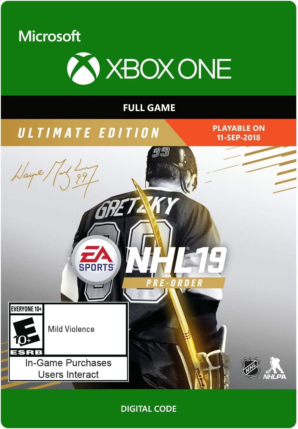 NHL 19 Ultimate Edition - PS4 [Digital Code] Electronic Arts
