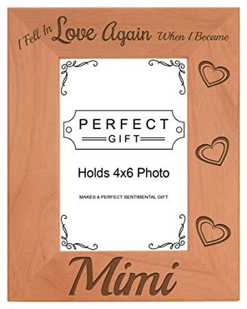Amazon.com - Grandma Gifts Fell In Love When I Became Mimi Natural ...