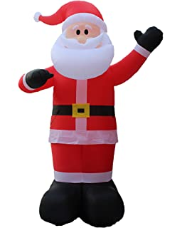 Great 14 Foot Tall Huge Christmas Inflatable Santa Claus Outdoor Indoor Decoration