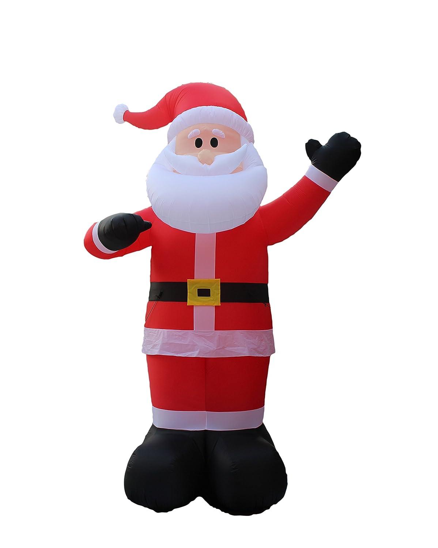 Santa claus outdoor decorations home design