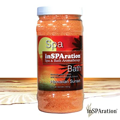 InSPAration 7460C Hawaiian Sunset Crystal for Spa and Hot Tubs, 19-Ounce : Sauna Accessories : Garden & Outdoor