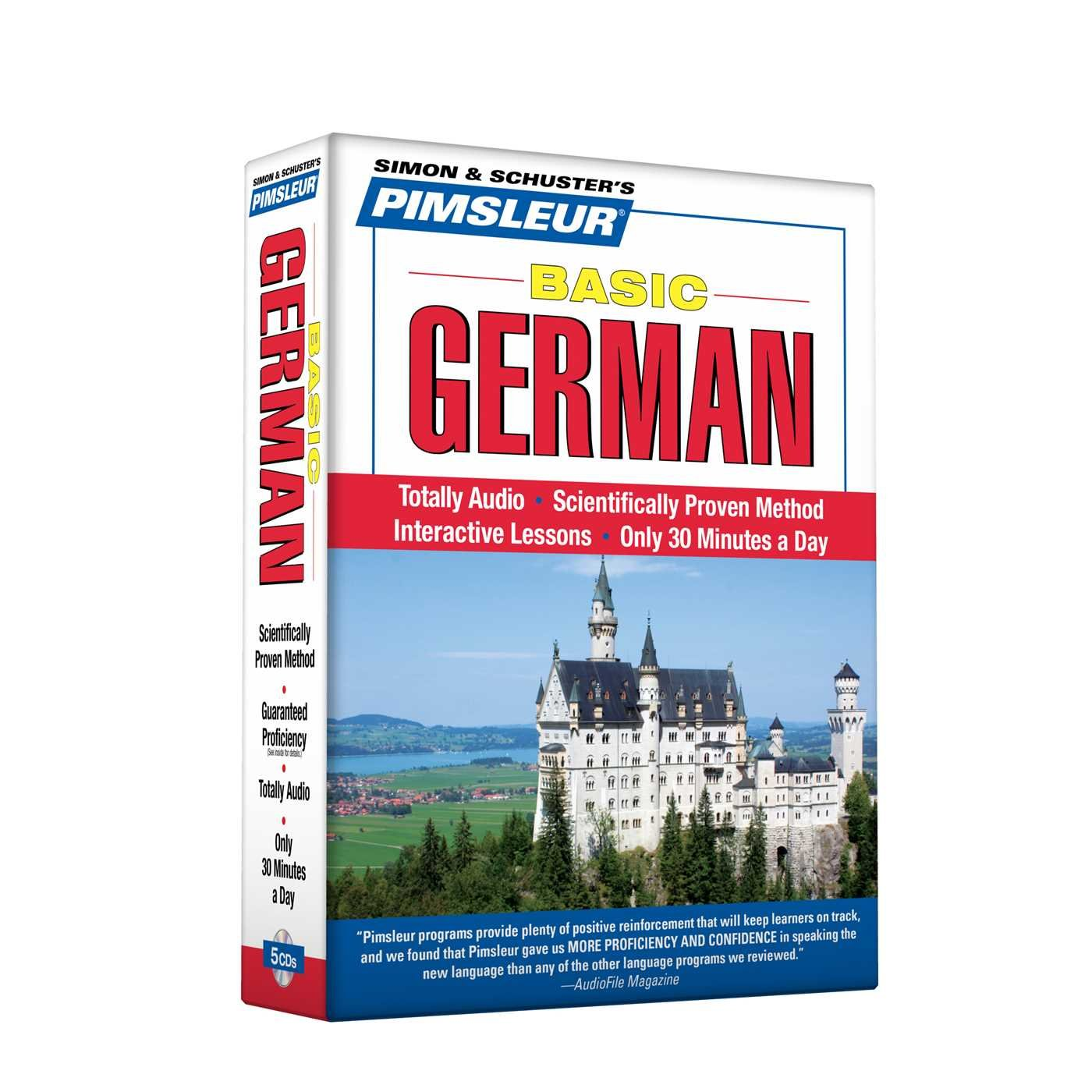 Pimsleur German Basic Course - Level 1 Lessons 1-10 CD: Learn to Speak and Understand German with Pimsleur Language Programs by Not Available (NA)
