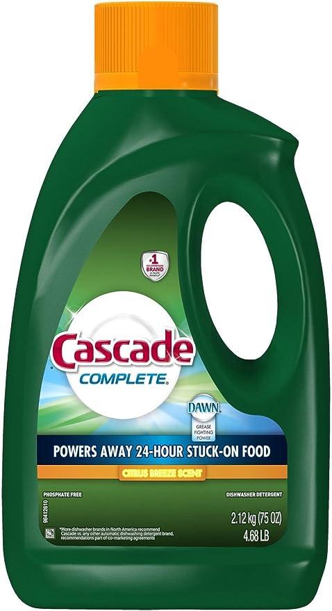 Amazon.com: Cascade - Detergente para lavavajillas (gel), PG ...