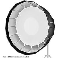 Neewer 90cm Softbox Profonda Esadecagonale – Velocemente Richiudibile con Attacco Bowens & Diffusore per Speedlite da Studio Flash Monoluce, Ritratti & Fotografia di Prodotti