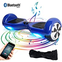 "Windgoo 6.5""Balance Board Patín Eléctrico Bluetooth,Scooter Eléctrico Smart Balance con App/Altavoz,Bolsa"