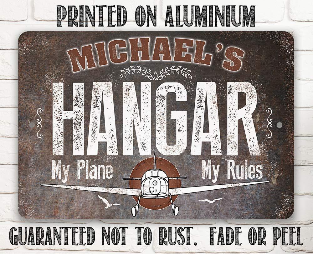 Hangar Decor Air Crew Only Pilot Office Dad Pilot Quality Aluminum Decorations Air Crew Only Sign Hangar Sign Pilot Sign For Dad