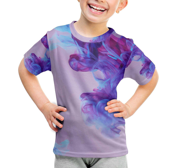 Amazon Com Purple Inky Waters Kids Cotton Blend T Shirt Unisex Clothing