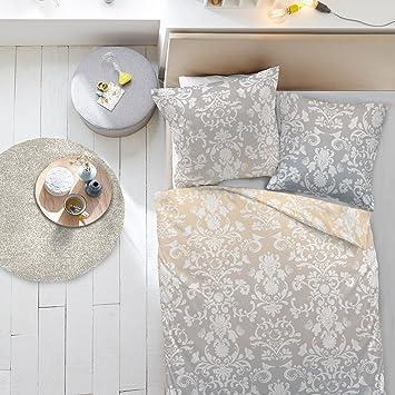 Dormisette Feinbiber Bettwäsche St. Louis 155x220 cm + 80x80 cm ...