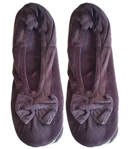 taille 40 bfaee 259b3 Casa Socks Ballerine d'intérieur Femme, Chausson, Pantoufle ...