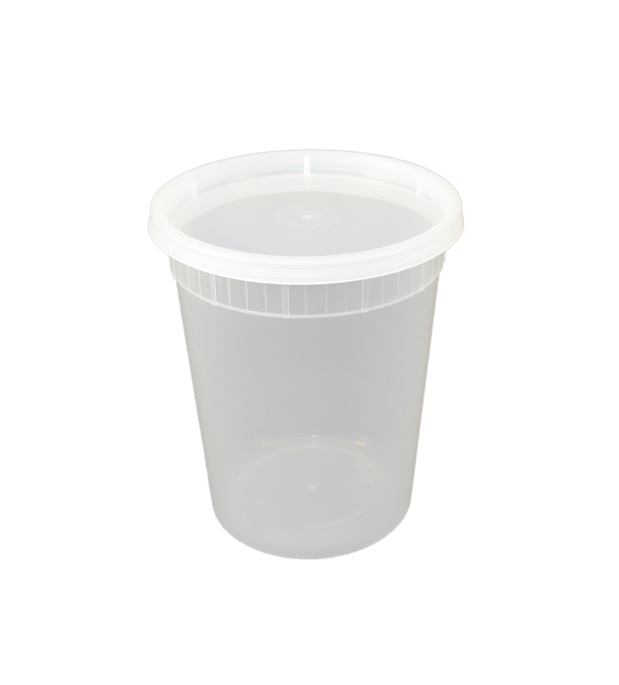 Specialty Quality Packaging TD40032 Plastic Soup Container, 32 oz, Combo 240 (Pack of 240) by Specialty Quality Packaging