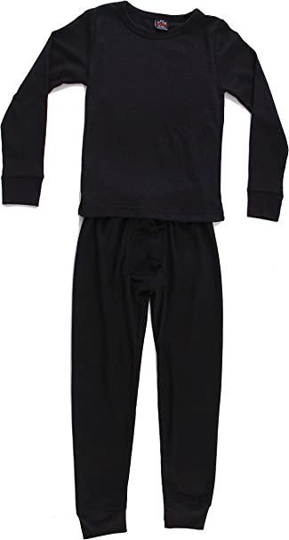 New Boys Thermal Long Johns Underwear Set Navy Large 14-16