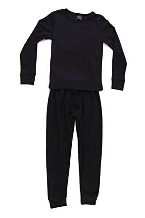 bdbb713183d7 Amazon.com  At The Buzzer Thermal Underwear Set for Boys  Clothing
